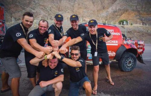 A.Lot sponsors a record high finish in the Dakar rally